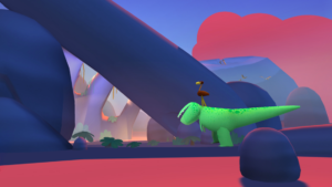Screenshot of the real time gameplay. Responsible for most of the lighting, environment fx, texturing and setdressing of the level. Art direction by Juan Castañeda