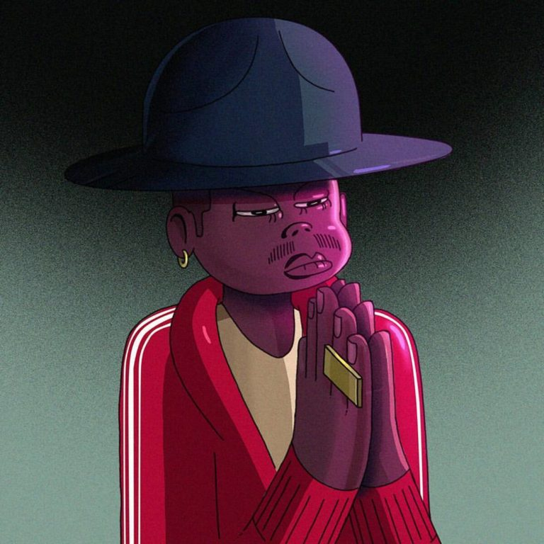 Pharrell Williams - Character Design